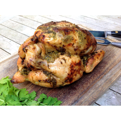 Green Chutney Chicken 1