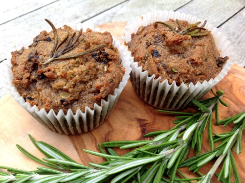 Rosemary & Black Olive Muffins